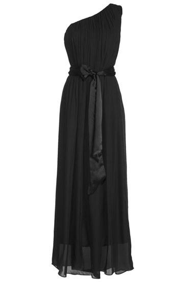 Schwarze elegante abendkleider